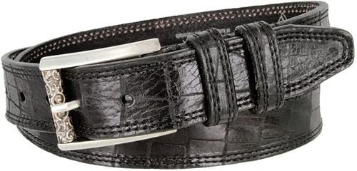 """Lejon Made in USA Belt Genuine Italian Calfskin Leather Casual Dress Belt 1-3/8""""(35mm) Wide"""