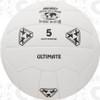 Ultimate Soccer Ball, White - 18 Panel