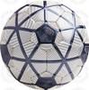Turin soccer Ball, White/Black-Black