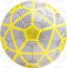 Turin soccer Ball, White/Black-Yellow