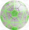 Turin soccer Ball, White/Black-Lime