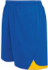 Fresno Shorts, Royal/Athletic Gold
