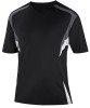 Delray Jersey, Black/Charcoal-White