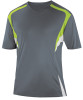 Delray Jersey, Charcoal/Lime-White
