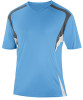 Delray Jersey, Sky/Charcoal-White
