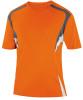 Delray Jersey, Orange/Charcoal-White