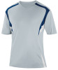 Delray Jersey, Silver/Navy-White