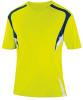 Delray Jersey, Shock Yellow/Navy-White