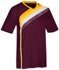 Hartford Jersey, Maroon/Athletic Gold-White
