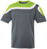 Irvine Jersey, Charcoal/Lime-White
