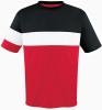 Fairfax Jersey, Red/Black-White