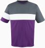 Fairfax Jersey, Purple/Charcoal-White