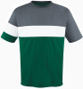 Fairfax Jersey, Forest/Charcoal-White