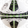 Fusion soccer ball, White/Black-Lime