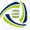 Fusion soccer ball, Custom Logo