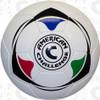 Club Air soccer ball, White/Multi