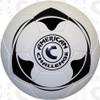 Club Air soccer ball, White/Black