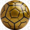 Bergamo soccer ball, Gold/Black