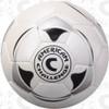 Apex 90 soccer ball, White/Black-Silver