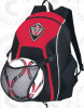 Real Backpack with Custom Logo and Ball