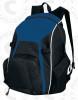 Real Backpack, Navy/Black-White