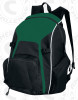 Real Backpack, Forest/Black-White
