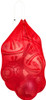 Mesh carry bag, Red