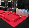 The Billiard Balls being used at a trade show