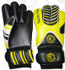 Fusion Flex Keeper Gloves, Yellow/Black