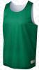 Morton reversible vest, Kelly Green/White
