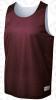 Morton reversible vest, Maroon/White
