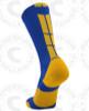 Baseline 3.0 sock - Royal Blue/Gold