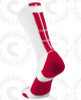 Baseline 3.0 sock - White/Red