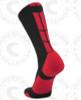 Baseline 3.0 sock - Black/Red