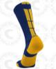 Baseline 3.0 sock - Navy Blue/Gold