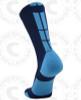 Baseline 3.0 sock - Navy Blue/Columbia Blue