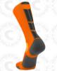 Baseline 3.0 sock - Neon Orange/Black