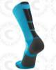 Baseline 3.0 sock - Electric Blue/Black