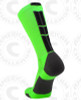 Baseline 3.0 sock - Neon Green/Black