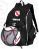 Little Neck Douglaston Backpack, Black/White