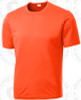 Select Training Shirt, Neon Orange