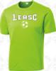 Lynbrook East Rockaway Training Shirt, Lime
