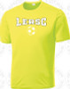 Lynbrook East Rockaway Training Shirt, Neon Yellow