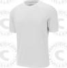 Select rash guard, Short sleeve, White