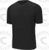 Select rash guard, Short sleeve, Black