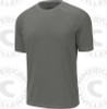 Select rash guard, Short sleeve, Iron Grey