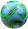 Kreis Soccer Balls, Sky Blue/Lime
