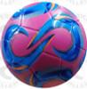 Kreis Soccer Balls, Raspberry/Sky Blue