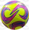 Kreis Soccer Balls, Yellow/Raspberry