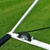 7' x 21' x 3' x 7' ULTIMATE WHEELED GOAL - rear wheel assembly